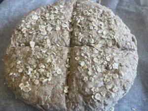 Irish vegan soda bread