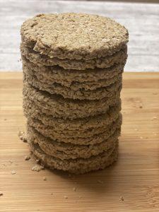vegan Scottish oatcakes