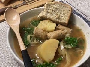 vegan traditional Scottish Stovies