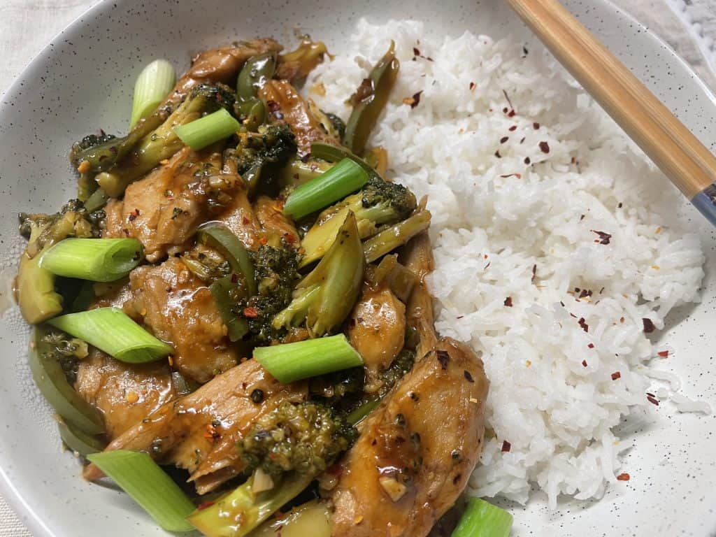 Vegan Mongolian Beef and Broccoli