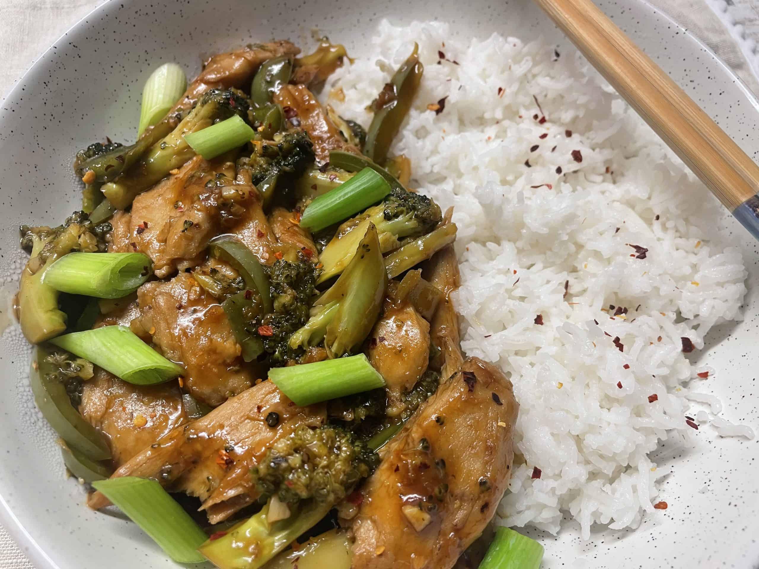 Vegan Mongolian Beef and Broccoli