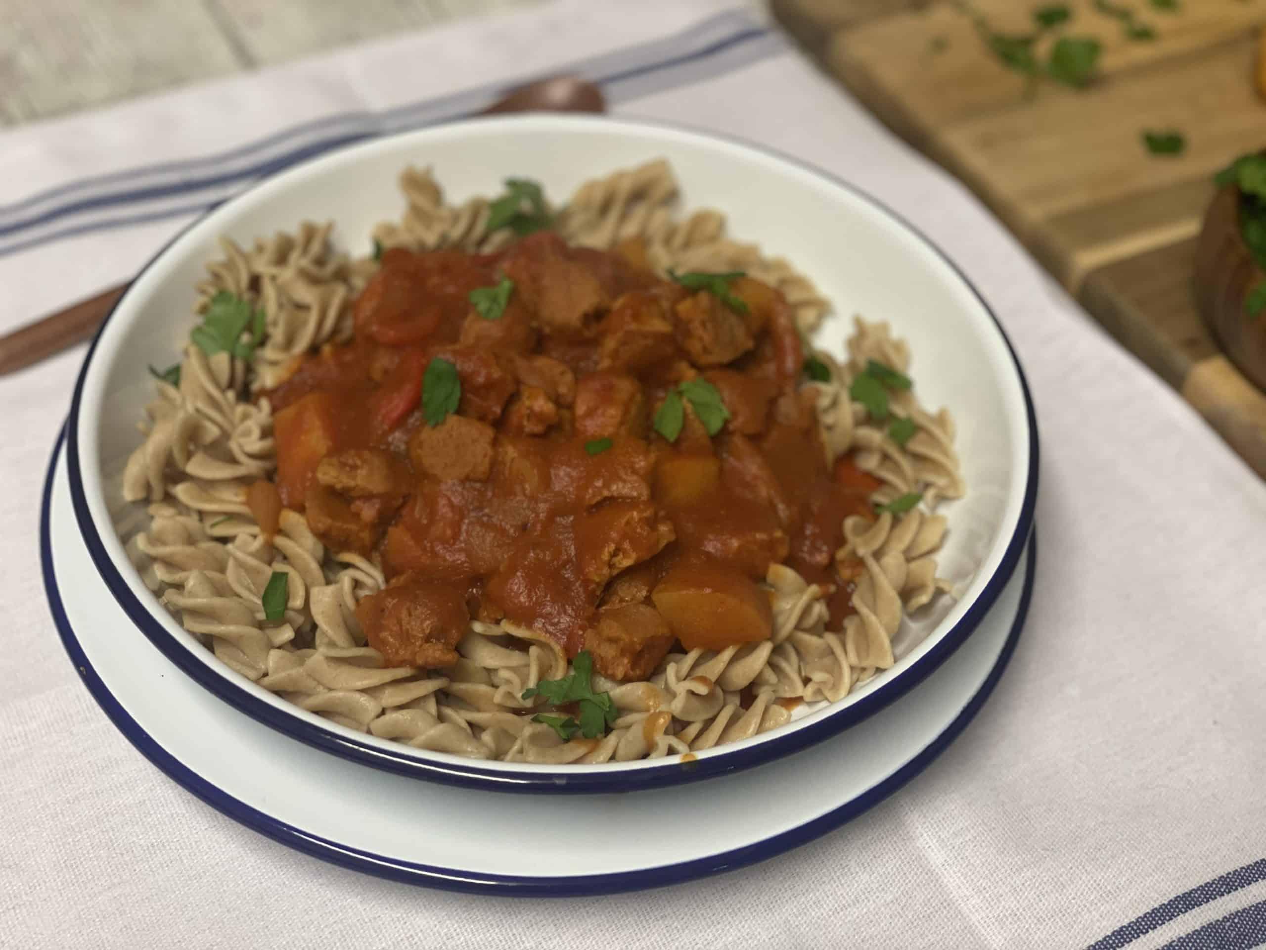 Vegan Hungarian Goulash