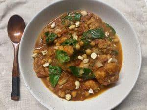 slow cooker vegan tikka masala