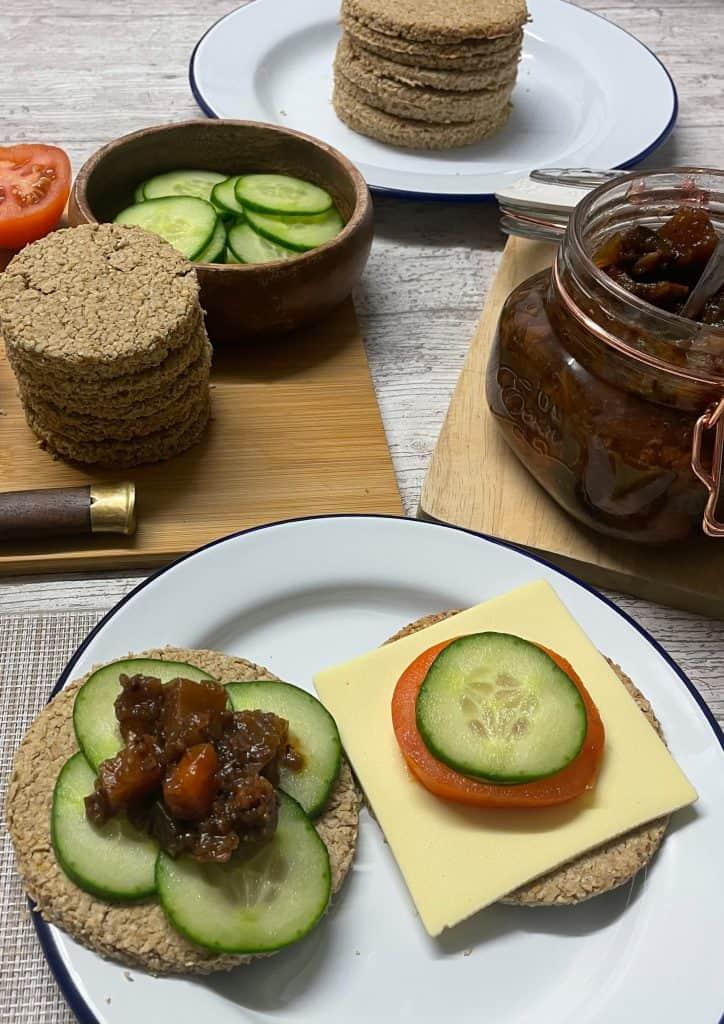Scottish Vegan Oatcakes