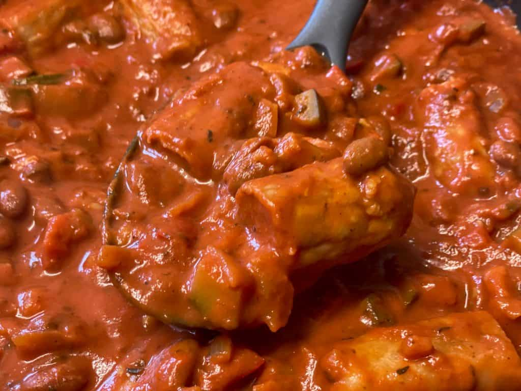 vegan sausage pasta