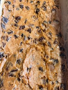 vegan fruit loaf cake