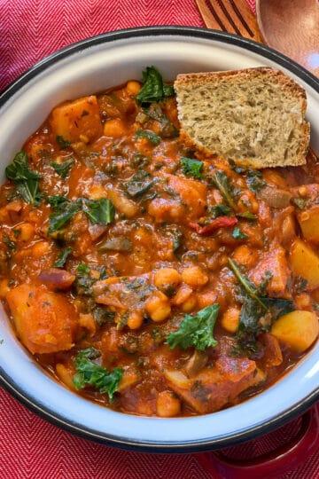 Spanish chickpea stew plant-based