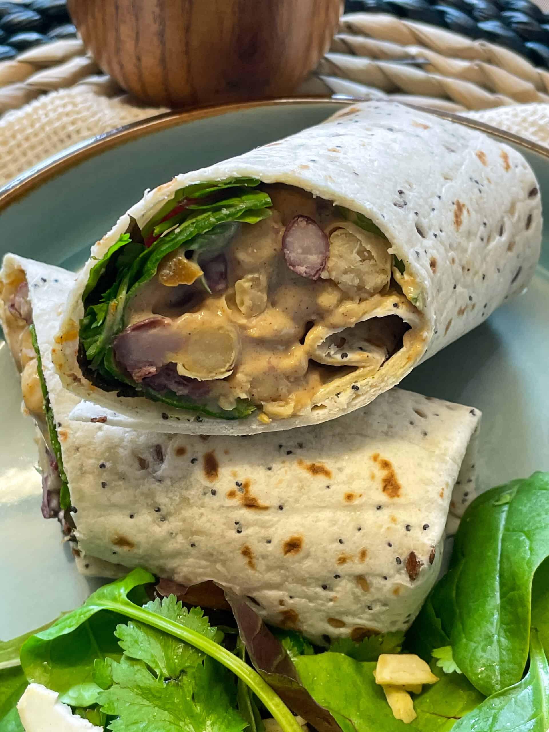vegan coronation chicken sandwich
