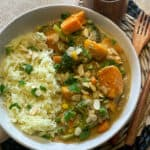 easy vegan vegetable curry