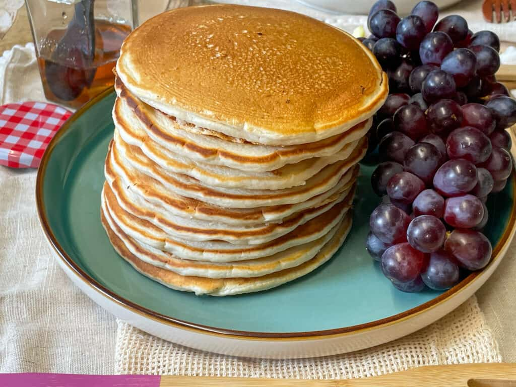 vegan Scotch traditional pancakes