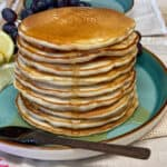 vegan traditional Scotch pancakes
