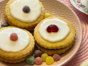 vegan empire biscuits cookies