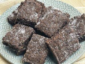 vegan chocolate concrete cake (cookie)